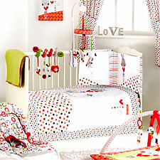 Red Kite Cotton Tail Cosi Cot Bedding / Cot Bed 4 Piece Set Unisex Bedding Bale