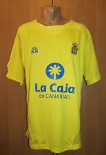 UD LAS PALMAS 2009/2010 HOME FOOTBALL SHIRT CAMISETA JERSEY MAGLIA KS SPAIN (XL)