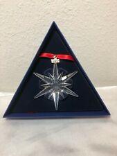 Swarovski Crystal 2005 Limited Edition Star Ornament. New.