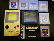 Original Nintendo Gameboy with Light Magnifier and 6 Games