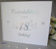 ~18th Birthday Signing Guest Book~ Gift~Present~Keepsake