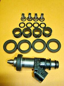 Fuel Injector Rebuild Kit O-rings Filters for Suzuki Hayabusa GSXR1300R 600 750