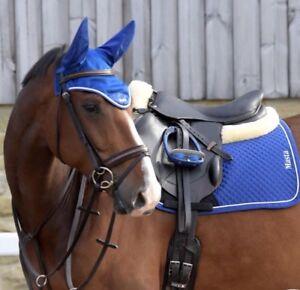 COB - LTD EDITION BLUE Protechmasta Infrared Ear Bonnet Fly Veil 💕Rescue Funds