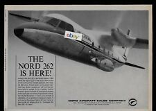 LAKE CENTRAL AIRLINES NORD 262 IS HERE! 1965 AD