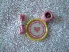 Fisher Price Loving Family Dollhouse VALENTINE Valentines Heart PLATE mini food