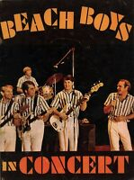BEACH BOYS 1964 TOUR CONCERT PROGRAM BOOK BOOKLET / BRIAN WILSON / VG 2 EX