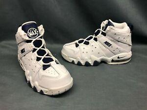 Nike Air Max CB '94 (PS) Athletic Sneakers White Navy Boys Sz 1.5 DISPLAY MODEL!
