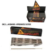 40 GR BOX - ZOMBIE REPELLENT INCENSE STICKS DEVIL'S GARDEN NATURAL ORGANIC