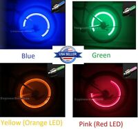 Valve Stem LED CAP for Bike Bicycle Car Motorcycle Wheel Tire Light Lamps Safety