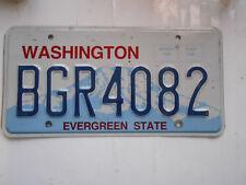plaque immatriculation  usa Washington license plate old americaine bgr
