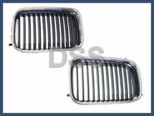 Genuine BMW E36 318i 318ti 325i 325is M3 Set of Left and Right Front Grilles NEW