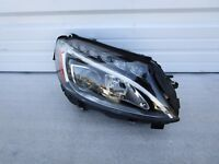 2015 2016 Mercedes Benz C250 C300 C63 OEM HID Headlight Right Passenger 15 16