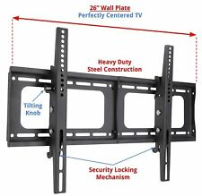 Husky Mount Tilting TV Wall Mount Flat Screen 32 40 42 50 52 55 60 65 70 72""