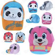 Kids Boys Girls Animal Baseball Caps Breathable Mesh & Snap Back Children Hats