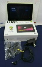 """HKC P774A 7"""" Tablet Capacitive Multi-Touch Android 4.1 Jelly BeanPC- Yellow."""