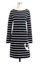 NWT J Crew Anchor Navy White Stripe Nautical Cotton Dress Size XS Retails $98