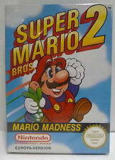 SUPER MARIO BROS 2 - NINTENDO NES PAL B EUROPEAN VERSION BOXED