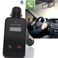 Wireless Bluetooth FM Transmitter Car Kit MP3 Player SD USB LCD Remote Charger x