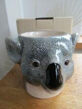 More details for quail ceramics koala bear desk tidy pencil/pen / brush pot holder  new &boxed