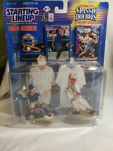 1998 Mike Piazza Ivan Rodriguez Classic Doubles Starting Lineup Baseball Figures