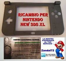 COVER CASE SCOCCA DI RICAMBIO PER NINTENDO NEW 3DS XL COLORE GRIGIO 3DSXL SHELL