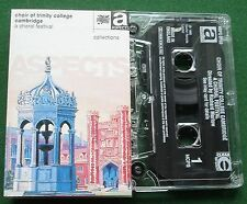 Choir of Trinity College Cambridge A Choral Festival Cassette Tape - TESTED