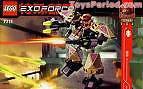 Notice d'instruction LEGO EXOFORCE exo force 7711