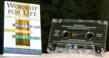 Worship For Life 4 track Sampler CASSETTE TAPE Steve Fry/Tina Keil/John Chisum +