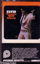 ELVIS PRESLEY Frankie Johnny Original Soundtrack Cassette 60s Rock Victor Rare