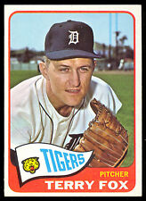 1965 TOPPS BASEBALL #576 TERRY FOX HIGH SERIE NM DETROIT TIGERS FREE SHIP TO USA