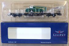Liliput l235753 DB Flachwagen Wagon & Verlag Ullstein Camión Carga 886-2