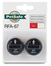 2 Genuine Petsafe RFA-67 Battery modules for Bark Control, Radio Fence Collars