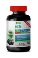 Saw Palmetto Berry Extract 160mg. Supports Prostate Health Libido  (1 Bottle)