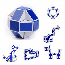 New Children Magic Snake Shape 3D Magic Cube Twist Logic Brain Toy