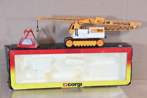 CORGI 1154 1/43 SCALE BLOCK CONSTRUCTION TOWER MOBILE CRANE BOXED ny