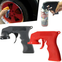 2pcs Aerosol Spray Can Handle Full Grip Trigger Locking For Painting Gun Holder