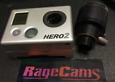 GOPRO HD HERO2 MODIFIED Camera LENS 2.8-12mm VARIABLE FOCUS VARIFOCAL LENS Macro