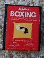 Boxing (Atari 2600) Activision Game Cartridge