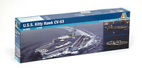Italeri 5522 1/720 Scale Model Kit US Navy Aircraft Carrier USS Kitty Hawk CV-63