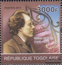 Togo 3913 (kompl.Ausg.) postfrisch 2011 Gustav Mahler