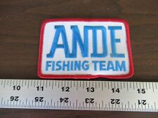 Ande Fishing Team Embroidered Sew On Patch Monofilament Line