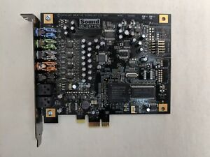 Creative Sound Blaster SB0880 PCI Express x1 sound Card
