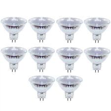 10 x Halogen Leuchtmittel Reflektor 20W GU5,3 MR16 12V FL flood 20 Watt warmweiß
