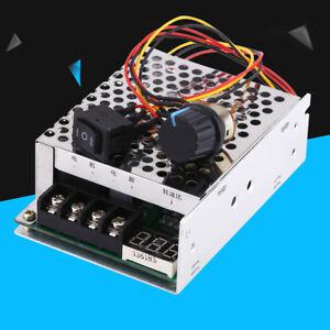 10V-55V 40A DC Motor Drehzahlregler mit Drehrichtung Schalter LED Display 15KHz❤