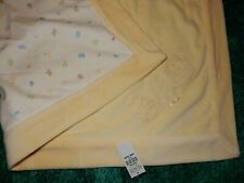 New listing Nwt The Children's Place Teddy Bears Velour Minky Cotton Crib Baby Blanket