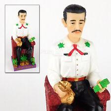 Jesus Malverde Statue Angel Sinaloa Mexico Religious Figurine Narco Saint Malver