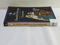THE DECEITFUL MARRIAGE and Other Exemplary Novels by Cervantes 1963 paperback