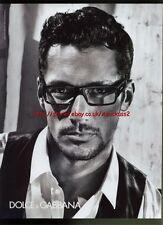 Dolce & Gabbana Fashion 2011 Magazine Advert #1155