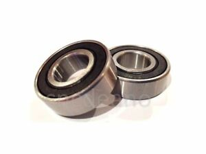 PAIR OF RUBBER SEALED BEARINGS SUITABLE FOR A PRO RIDER GOLF TROLLEY FRONT WHEEL