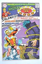 """House Of Mystery 1967 # 168 Fn Minus Martian Manhunter And Dial """"H"""" For Hero"""